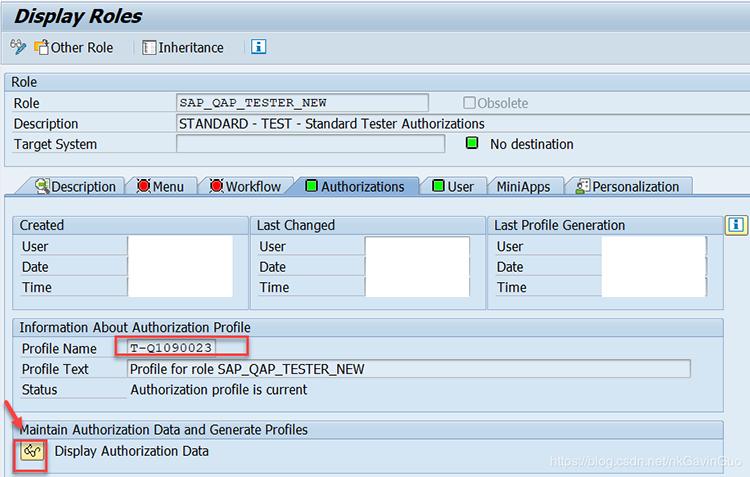 SAP权限管理的基本概念 图3