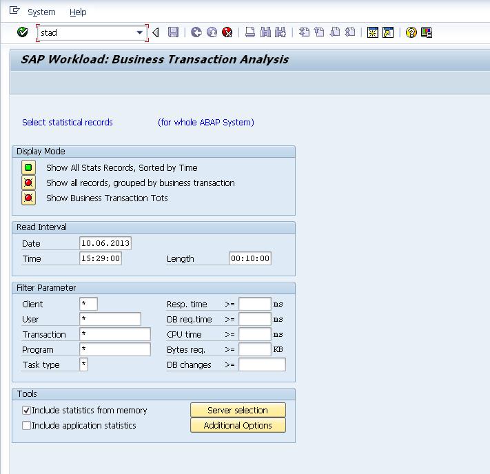 SAP 查询系统日志-追踪用户的更改记录 图1