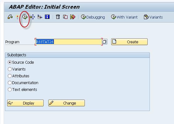 SAP 查询系统日志-追踪用户的更改记录 图2
