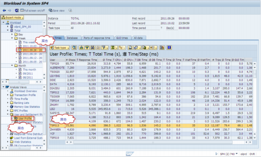 SAP 查询系统日志-追踪用户的更改记录 图12