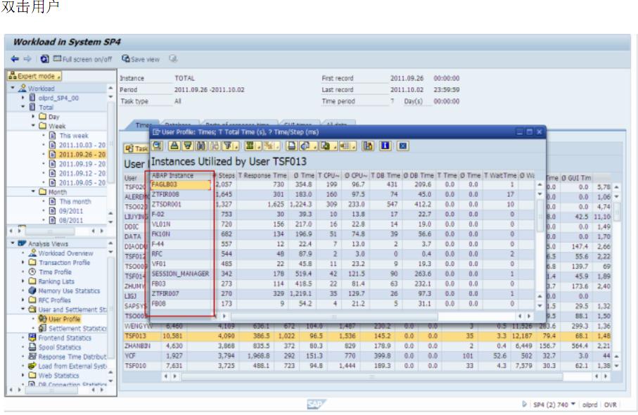 SAP 查询系统日志-追踪用户的更改记录 图13