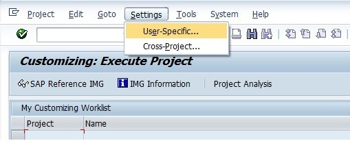 SAP查后台配置功能的T-code 图1