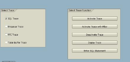SAP 使用ST05跟踪方法! 图1