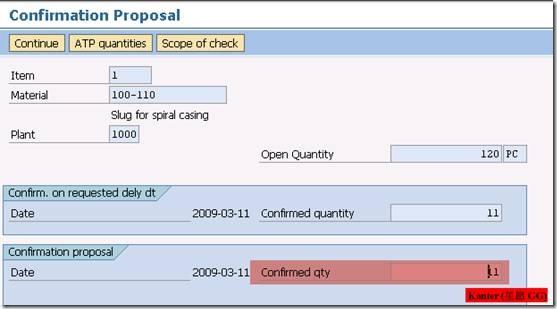 Availability Check 物料可用性检查 图12