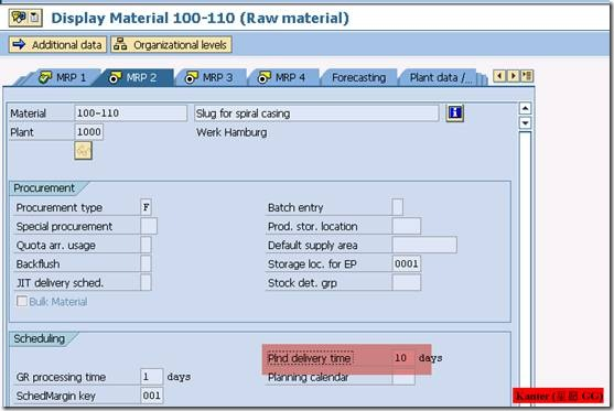 Availability Check 物料可用性检查 图15