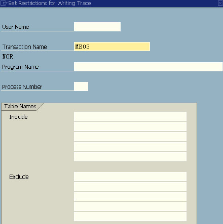 SAP 使用ST05跟踪方法! 图2