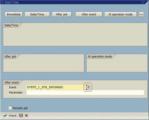 如何在SAP中定义Event类型的后台Job 图3