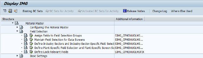 SAP查后台配置功能的T-code 图3