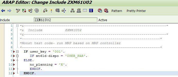 根据MRP控制者Run MRP 图3