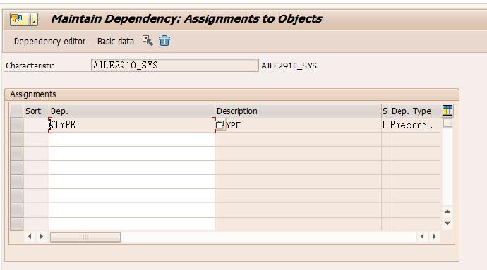 SAP生产订单分类:不同订单类型关联不同的特性 图6