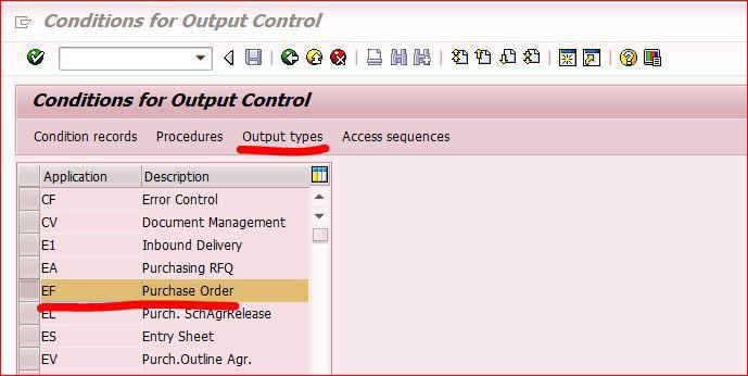 SAP MM模块:如何查找PO采购订单配置的打印form 图1