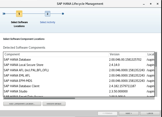 SAP HANA从升级到失败跑路 图7