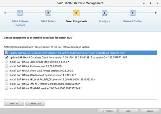 SAP HANA从升级到失败跑路 图9