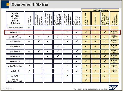 SAP产品概念及版本简介 图4