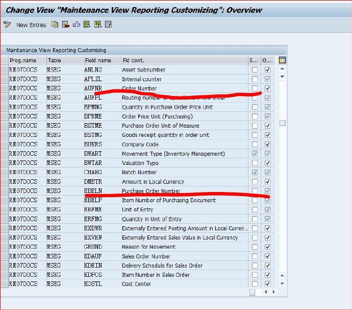 MB51查询物料凭证的报表-搜索条件的扩展 图1