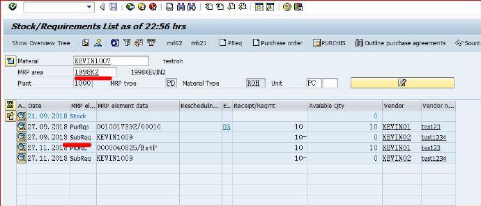 SAP多级外协业务应用 图17