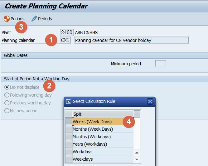 SAP 工厂日历的应用-绝对干货 图1