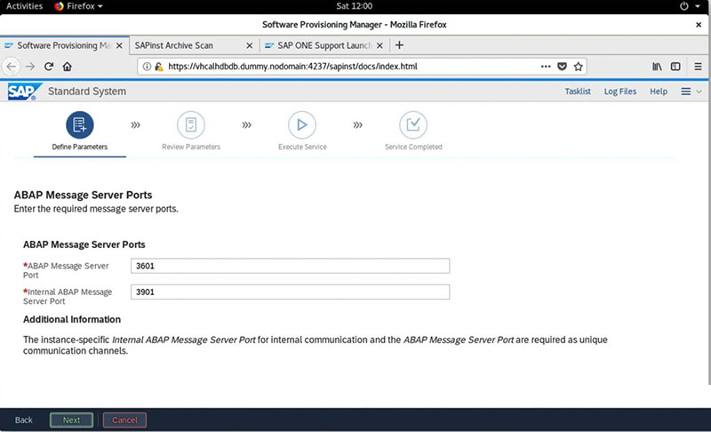 SAP S/4HANA 2020安装实录 图34