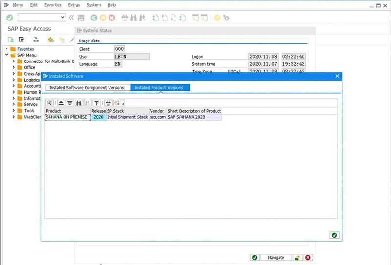 SAP S/4HANA 2020安装实录