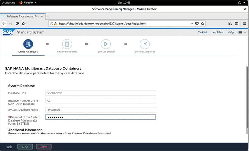 SAP S/4HANA 2020安装实录 图24