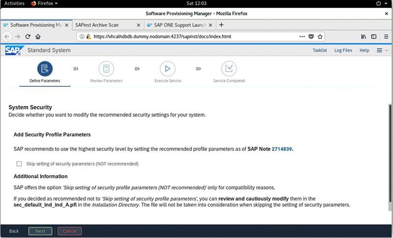 SAP S/4HANA 2020安装实录 图40