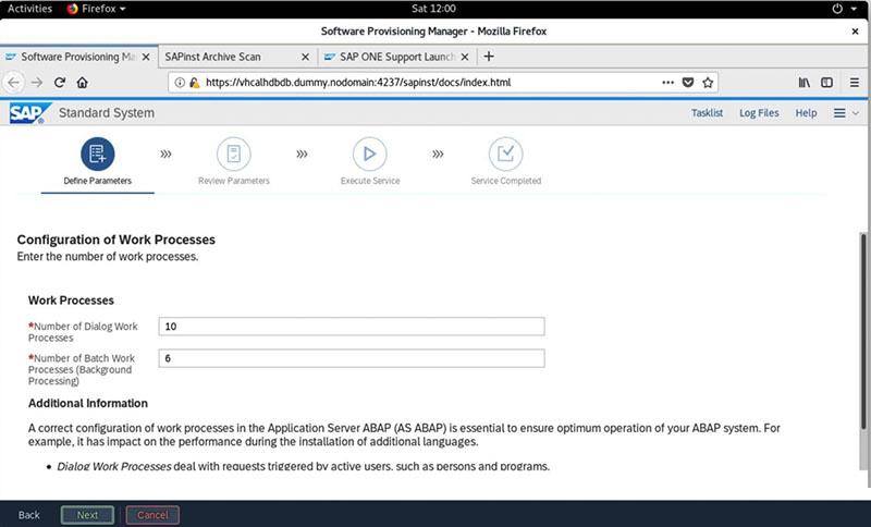 SAP S/4HANA 2020安装实录 图35