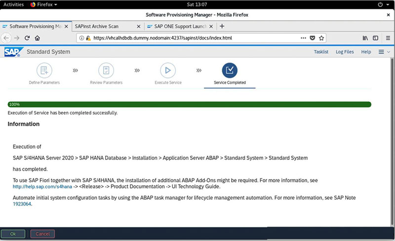 SAP S/4HANA 2020安装实录 图45