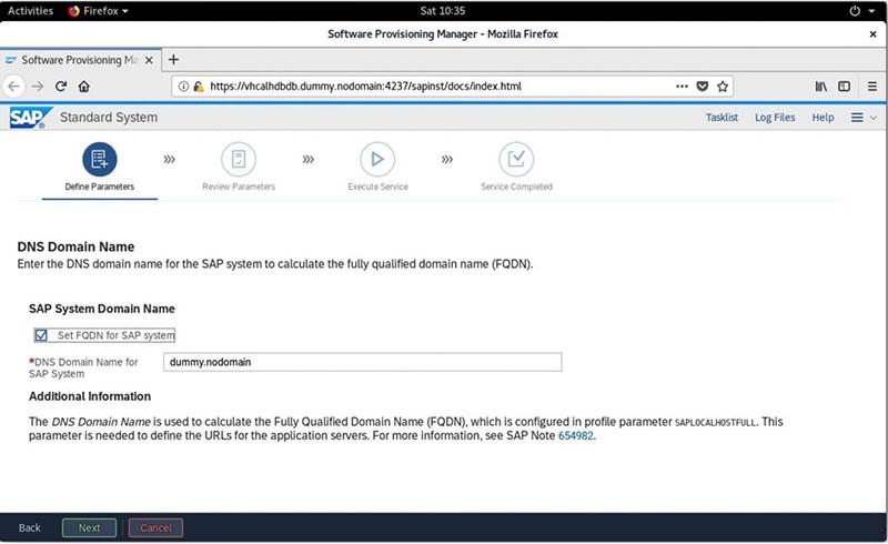 SAP S/4HANA 2020安装实录 图21