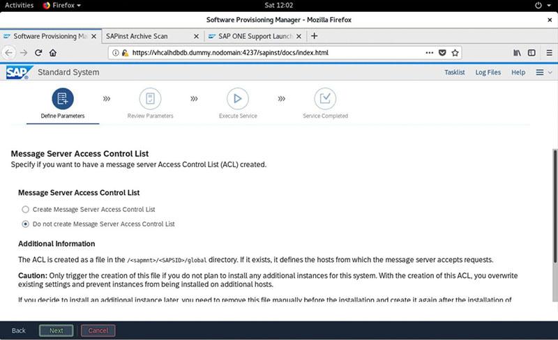 SAP S/4HANA 2020安装实录 图38