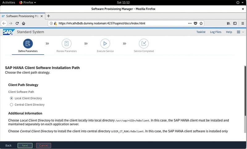 SAP S/4HANA 2020安装实录 图28