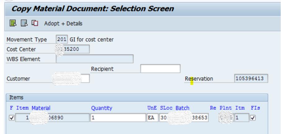 SAP MM 不常用事务代码之MBSL 图4