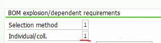 由MRP产生的采购申请科目分配类别如何自动带Q 图5