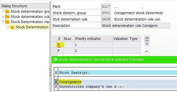 SAP中寄售结算规则及冲销 图5