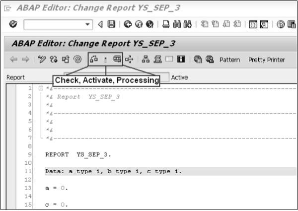 SAP ABAP 屏幕导航 图5