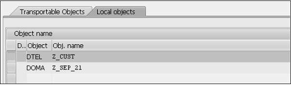 SAP ABAP 数据元素 图6