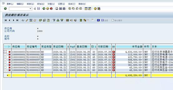 SAP中如何查询供应商明细 图6