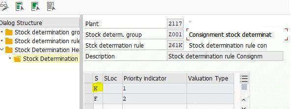SAP中寄售结算规则及冲销 图4