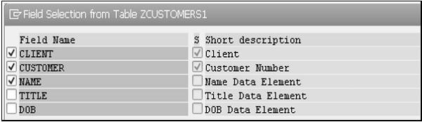 赛锐信息:SAP ABAP 视图 图3