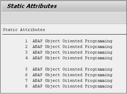 赛锐信息:SAP ABAP 类 图2