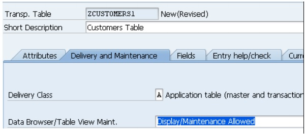 SAP ABAP 表 图2