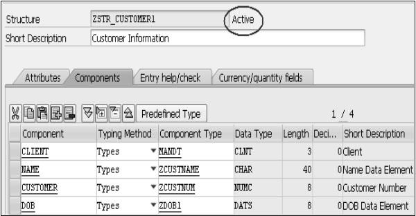 赛锐信息:SAP ABAP 结构 图4