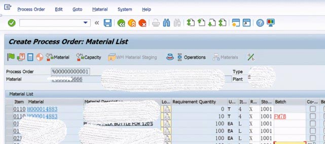 SAP PP 成品工单批次号跟所消耗的半成品批次号一致 图2