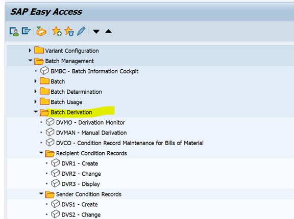 SAP Batch Derivation功能初探 图7