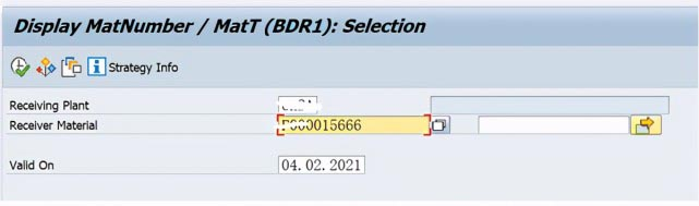 SAP PP 成品工单批次号跟所消耗的半成品批次号一致 图13