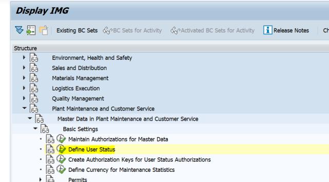 SAP PM 初级系列3 - 主数据相关的基础设置  图5