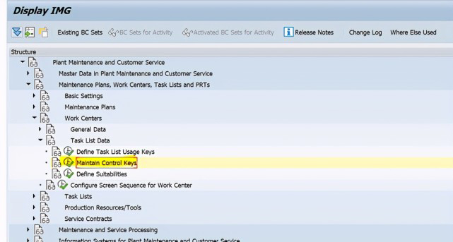 SAP PM 初级系列5 - 工作中心相关的配置 图13