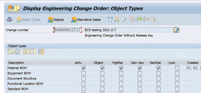 SAP PP C201使用ECR创建Recipe主数据 图2