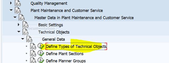 SAP PM 初级系列3 - 主数据相关的基础设置  图10