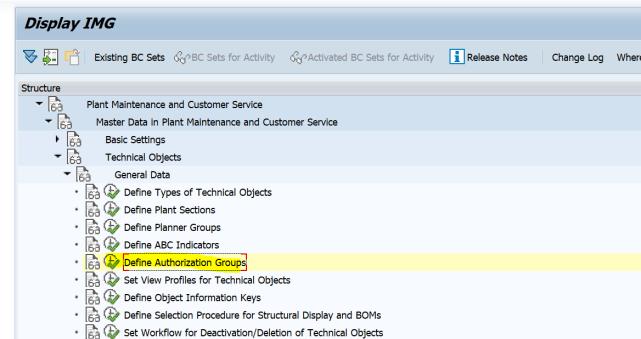 SAP PM 初级系列3 - 主数据相关的基础设置  图12