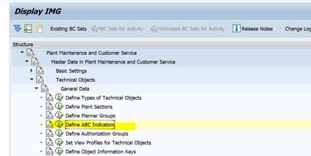 SAP PM 初级系列3 - 主数据相关的基础设置  图14